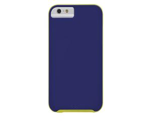 תמונה של Slim Tough Case for iPhone 6 Blue/Chartreuse Green Case mate