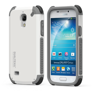 תמונה של DualTek Extreme Shock Case for Samsung Galaxy S4 Mini - Arctic White (Glossy) Pure Gear