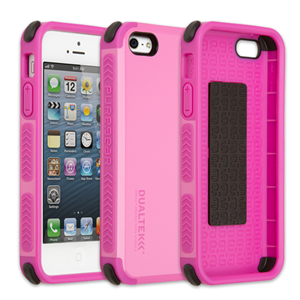 תמונה של DualTek Extreme Shock Case for iPhone 5S/5 - Simply Pink (Glossy) Pure Gear
