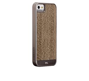 תמונה של Case-Mate Woods iPhone 5s - Grey Leopardwood Case mate