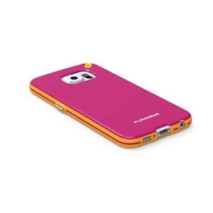 תמונה של Slim Shell Galaxy S6 Pink+ Pure Gear