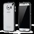 תמונה של Slim shell Galaxy S6 edge Clear/Black Pure Gear