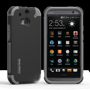 תמונה של DualTek Black HTC ONE M8 Pure Gear