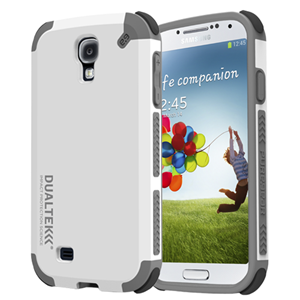 תמונה של Dualtek Galaxy S4 Arctic White Pure Gear