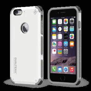 תמונה של DualTek White iPhone 6 Plus Pure Gear