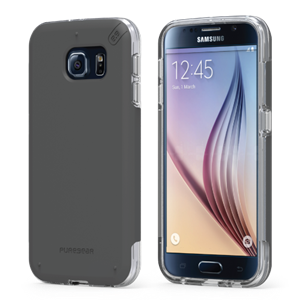 תמונה של DualTek PRO for Samsung Galaxy S6 - Clear/Black Pure Gear