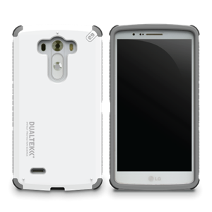 תמונה של DualTek White for LG G3 Pure Gear