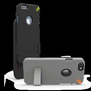 תמונה של HIP Case+Clip iP6 4.7 - Black Pure Gear