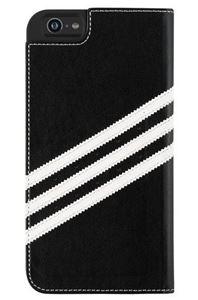 תמונה של Adidas Booklet Case for Apple iPhone 6 Plus - Black/white אדידס