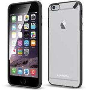 תמונה של Slim Shell Clear/Black iPhone 6 Plus Pure Gear