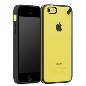 תמונה של Slim Shell iphone 5c- Clear/Black Pure Gear