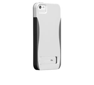 תמונה של Case-Mate Pop iPhone 5S WhiteTitanium-Gray Case mate