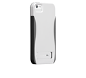 תמונה של Case-Mate Pop iPhone 5S White/Titanium-Gray Case mate