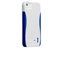 תמונה של Case-Mate Pop iPhone 5S White/Blue Case mate