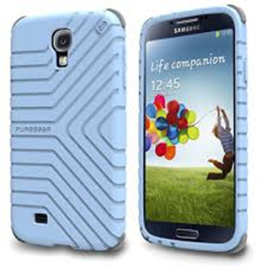 תמונה של GripTek Galaxy S4 Powder Blue Pure Gear